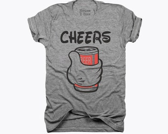 Cheers, Beers, Mouse ears, mickey beer, minnie wine, vacation shirt, epcot, drinking around the world, wine lover, disney, disney gift
