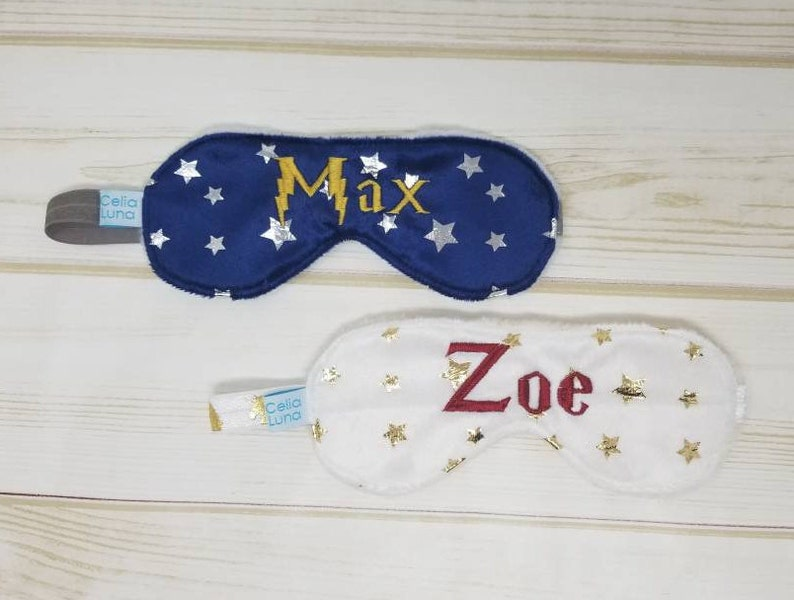Magic Personalized Child's Sleeping Mask image 0