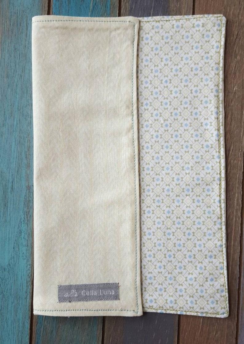 Pale Cream Men's Hank / Handkerchief / Pocket square  can image 0