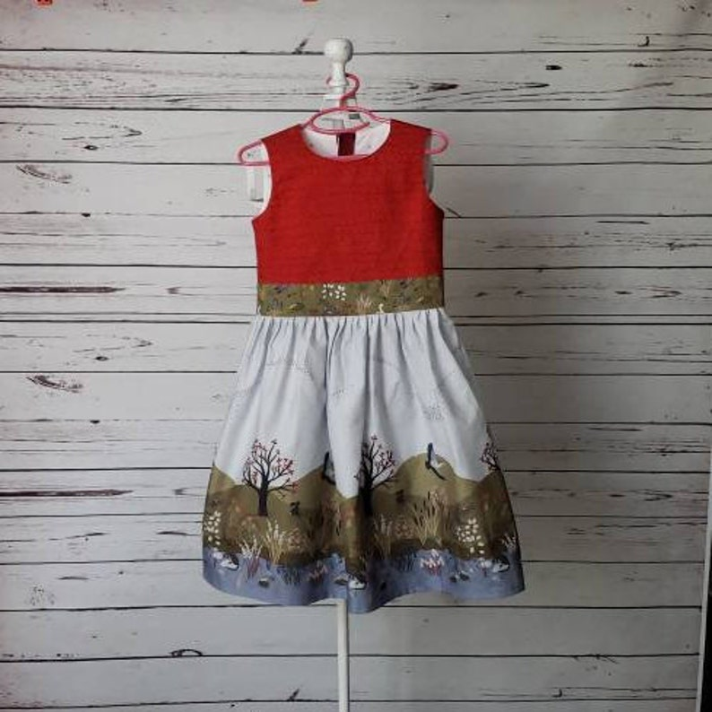 Autumn River Girls Dress  Size 6 image 0