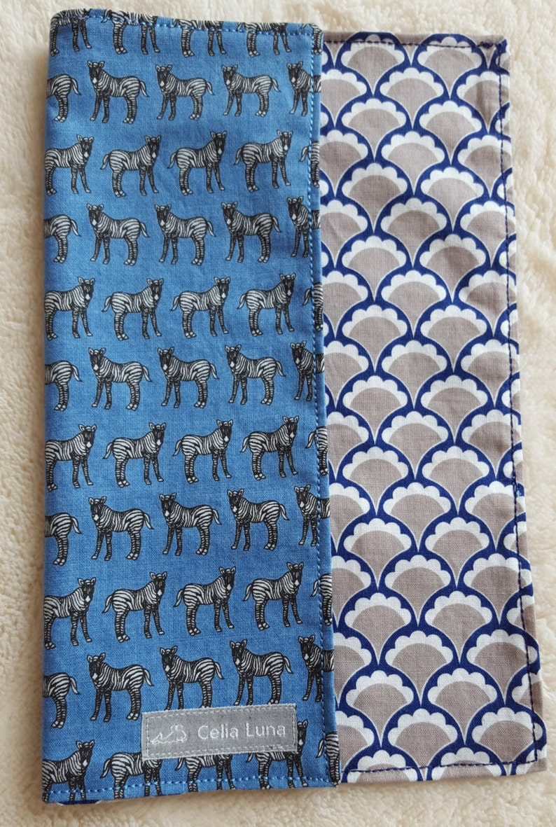 Zebra Men's Hank / Handkerchief / Pocket Square image 0