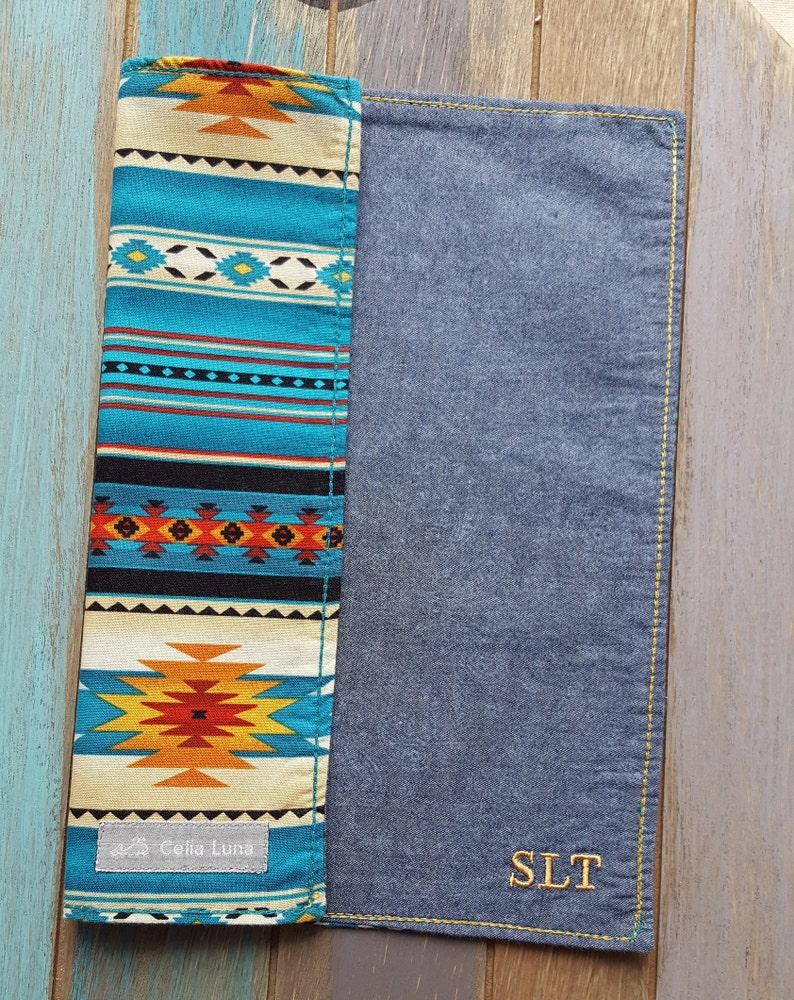 Dark Turquoise Navajo / Tribal Inspired Men's Hanks / image 0