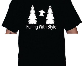 Falling with style wingsuit t-shirt or racerback tank top bc02fa16b
