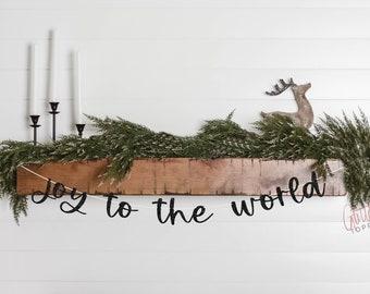 Joy To World Banner Etsy