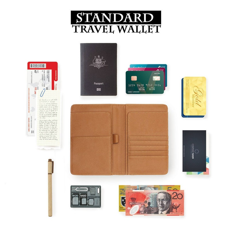 passport cover personalized passport cover RFID blocking classic leather travel wallet horse