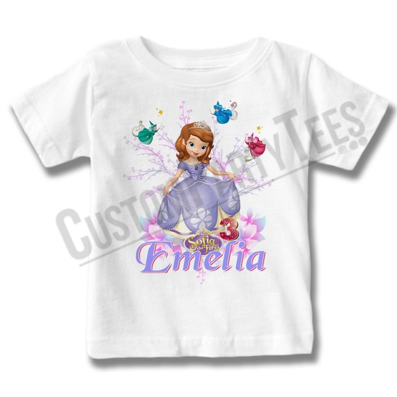 NEW PERSONALIZED DISNEY CINDERELLA BIRTHDAY T SHIRT ADD NAME AND AGE