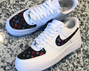 9dbdc6a257c Nike air force 1 louis vuitton | Etsy