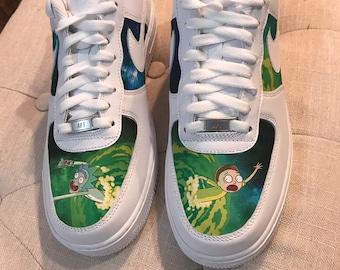 free shipping 2ecab fee11 Custom Shoes Nike Air Force 1 One    Adidas Vans Jordan Converse Sneaker  Air Max Hypebeast Authentic Old Skool Roshe Sk8 Hi