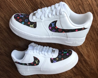 369ee9435f Custom Shoes Nike Air Force 1 One     Adidas Vans Jordan Converse Sneaker  Air Max Hypebeast Authentic Old Skool Roshe Sk8 Hi