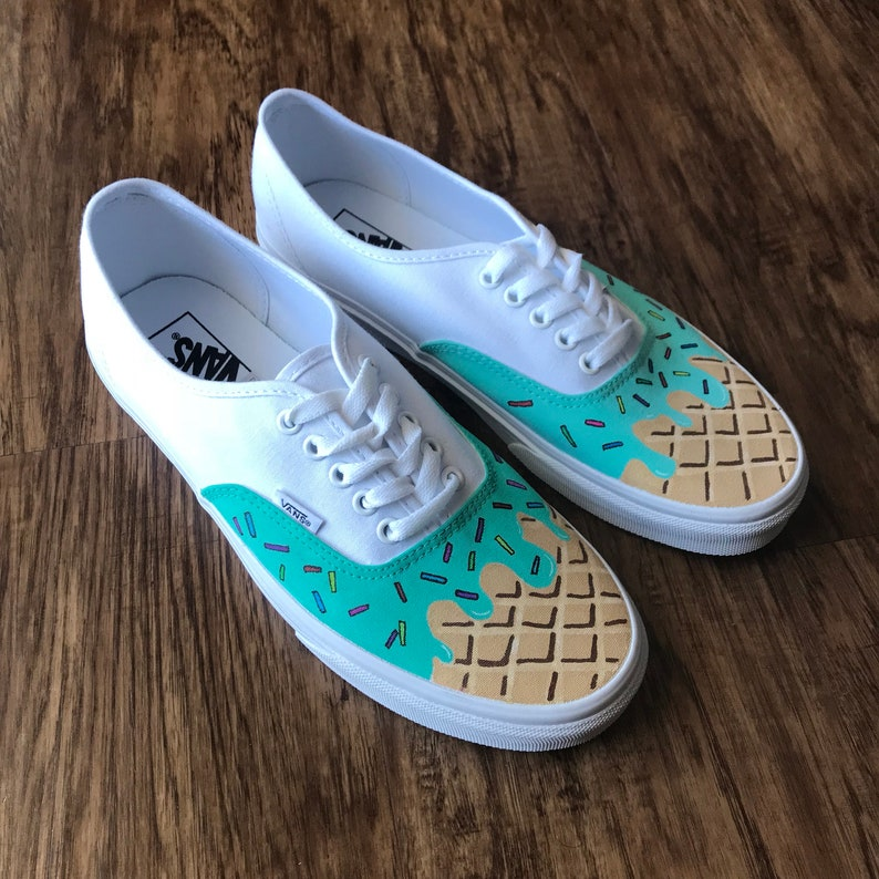 522c1d50212bba Custom Shoes Vans Authentic    Adidas Nike Air Force 1 One Old