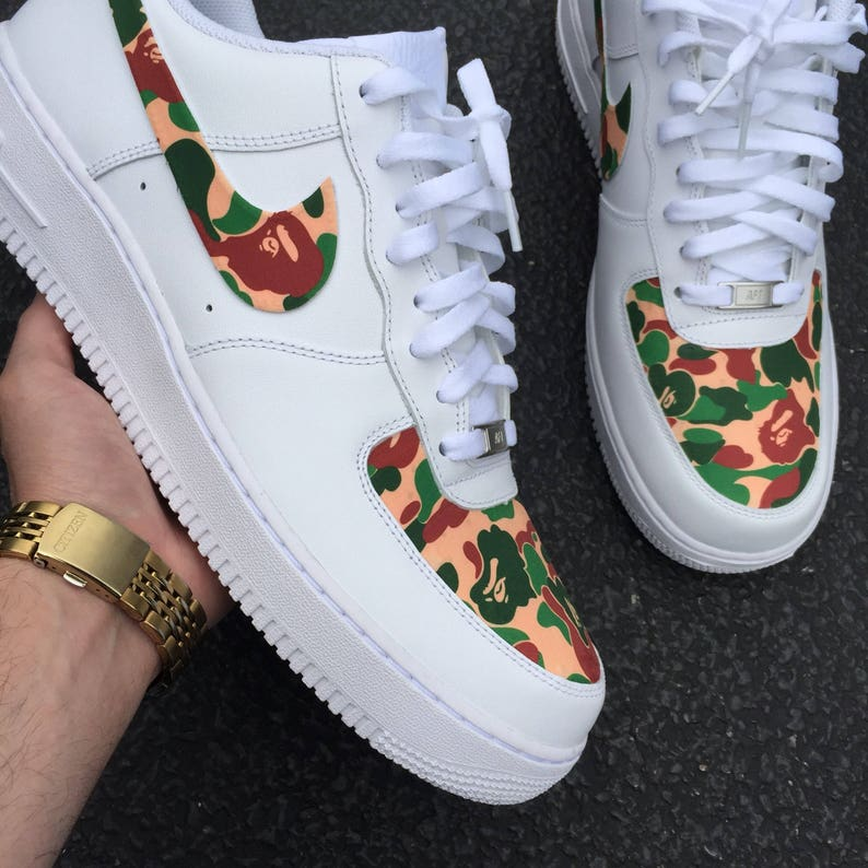 0be697a5cf Custom Shoes Nike Air Force 1 One    Adidas Vans Jordan