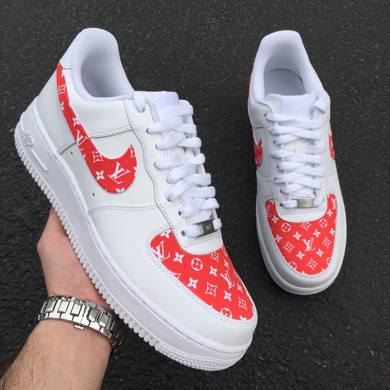 931f9b95c31ba7 Custom Shoes Nike Air Force 1 One    Adidas Vans Jordan