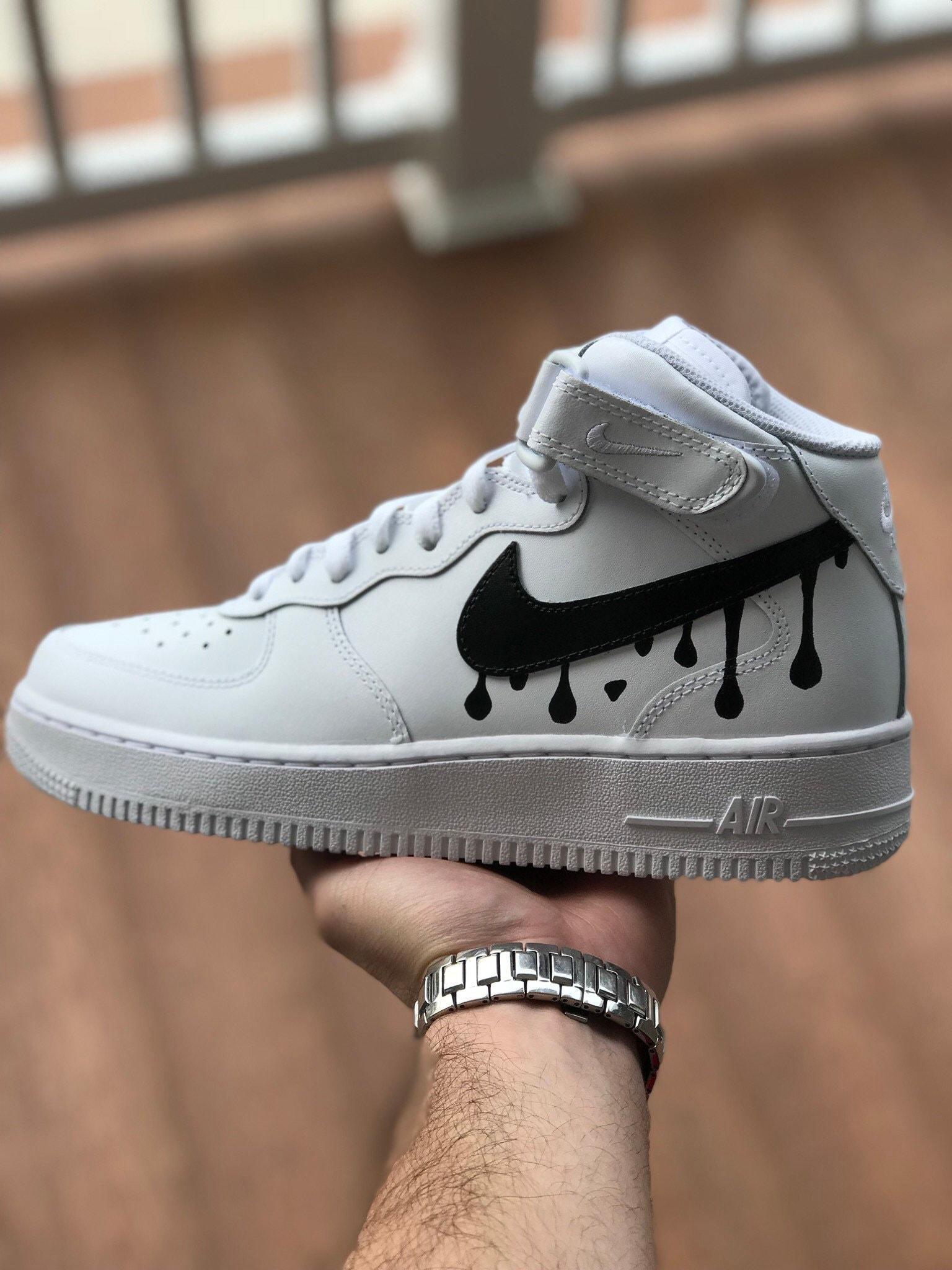 1271ed4250b17 Custom Shoes Nike Air Force 1 One // Adidas Vans Jordan | Etsy