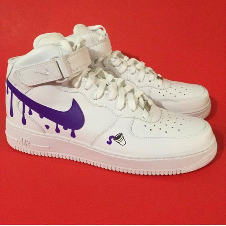 784fd43a6c207d Custom Shoes Nike Air Force 1 One    Adidas Vans Jordan