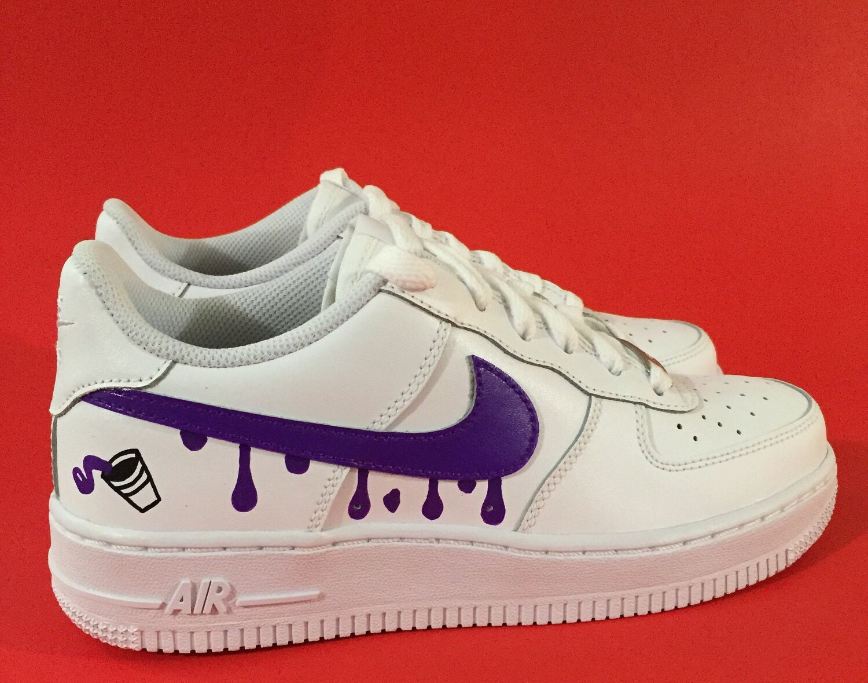 cheaper 78af9 46c39 Custom Shoes Nike Air Force 1 One    Adidas Vans Jordan   Etsy