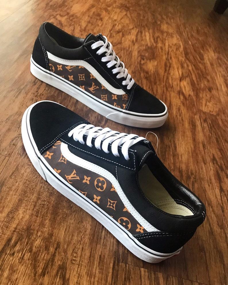 a4d783e1868f7 Custom Shoes Vans Old Skool // Adidas Nike Air Force 1 One Sk8 Hi Jordan  Converse Sneaker Air Max Hypebeast Authentic Roshe