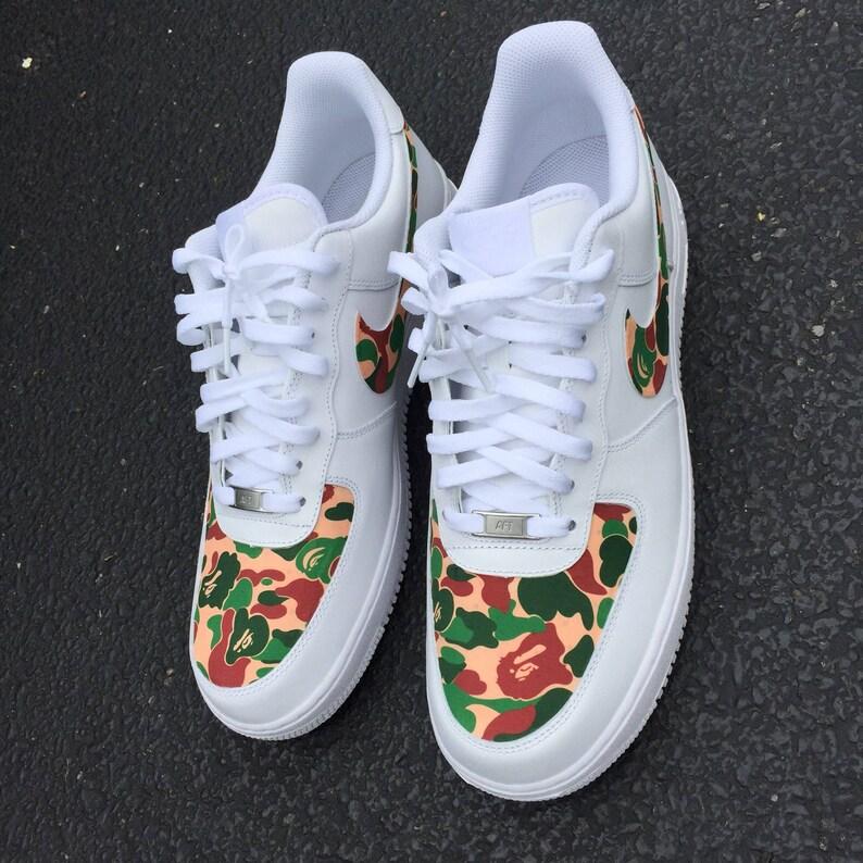 543d47d6ee3f Custom Shoes Nike Air Force 1 One    Adidas Vans Jordan