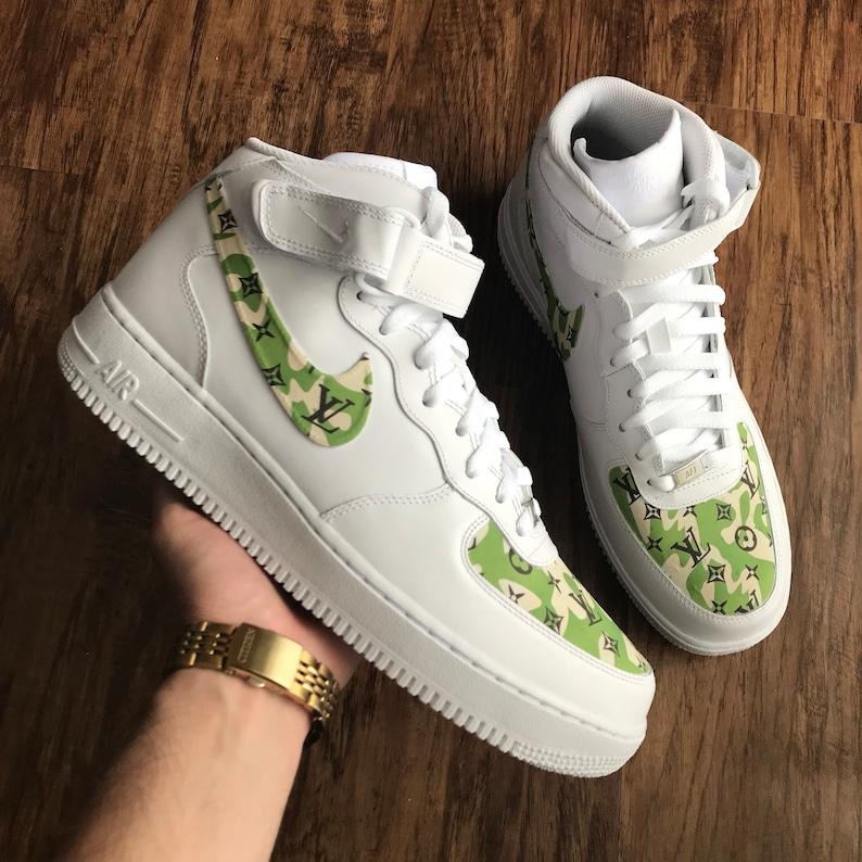 e4745a9923ca9c Custom Shoes Nike Air Force 1 One    Adidas Vans Jordan