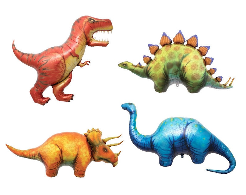 Toys & Hobbies Kid's Party Giant Dinosaur Foil Balloon Boys Animal Balloons Dinosaur Birthday Party Jurassic World Decorations Balloon Cartoon Hat