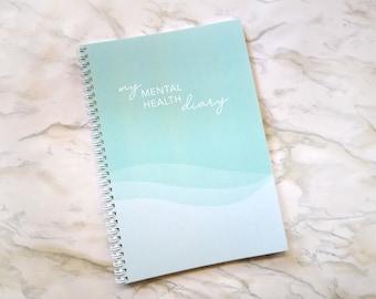 Mental Health Diary, Mental Health Journal, Planner