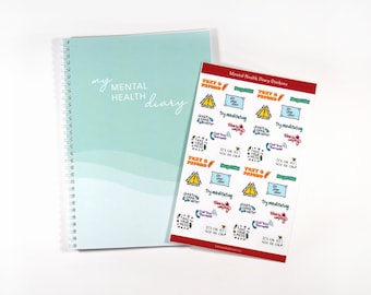 Mental Health Journal, Self Care Journal, Daily Affirmations