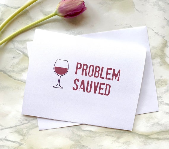 Wine Card Birthday Lover Happy