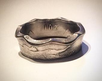 Gambian dalasi Coin-Ring