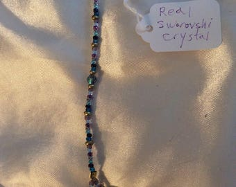 Gorgeous Swarovski Crystal heart pendulum.