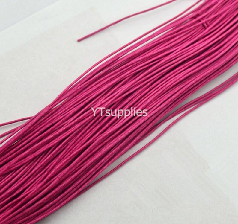 """2 /""""Cadena Collar Negro Cuerdas La Joyería De Moda Colgante Cable De 20 Cáñamo Cuerda 18"""