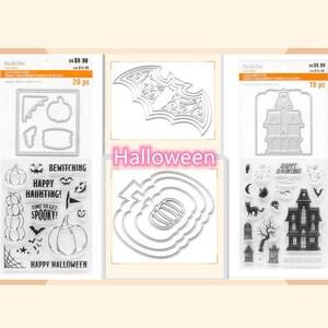 Recollections Halloween Stamps /& Dies Pumpkin Stamps