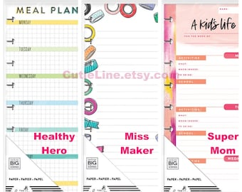 Business & Industrial Calendars & Planners Reasonable Create 365 The Classic Happy Planner Daily Schedule Sheets 60 Sheets