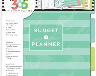 Happy Planner Budget Extension Pack - Use with CLASSIC/BIG Happy Planner/Budget Management/Planner Extensions