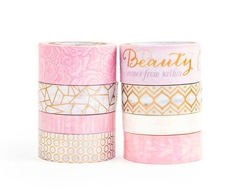 Shells & Pearls Washi Tapes By Craft Smith - 8 Rolls - Michaels Washi Tapes