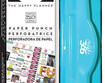Planner Punch Sale! Happy Planner Page PUNCH - Make your own planner pages/notebook
