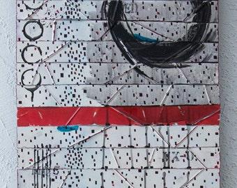 Abstract Wall Art - Metal Wall Art - Contemporary Art - Abstract Painting - Wall Sculpture - Modern Wall Art