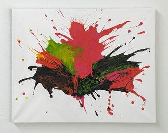 Original Art Work Painting by Contemporary Art Artist, Abstract Modern Art Painting, Minimalist Art, Artist's Study