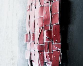 Metal Wall Sculpture - Metal Weave Art - Abstract Wall Art - Metal Wall Art - Metal Art - Contemporary Art - Wall Sculpture