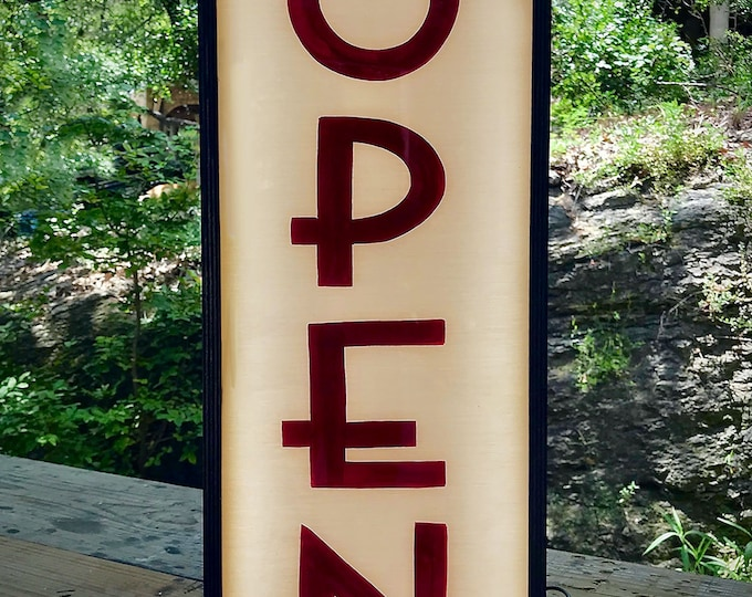Open Sign, Lighted Open Sign, Light Box, Open Sign Light, Open Closed Sign, Light Box Sign, Led Open Sign, Double Sided Open Sign, Open LED