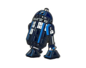 TAR2D2 Enamel Pin - Soft Enamel Pin - Lapel Pin - Star Wars Pin - Doctor Who Pin