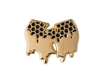 Killa Beez Enamel Pin - Soft Enamel Pin - Lapel Pin - Rap Pin - Music Pin - Gold Pin