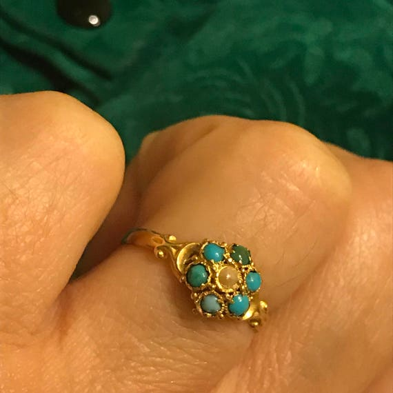 Victorian flower ring#antique flower ring# victori