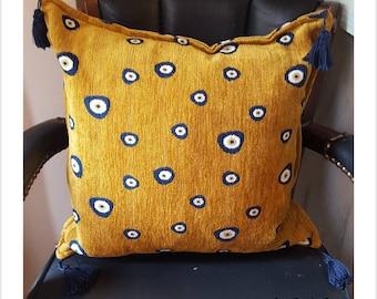 Galeri Tunc, Istanbul Turkey Accent / Throw Tassle Pillow Cushion