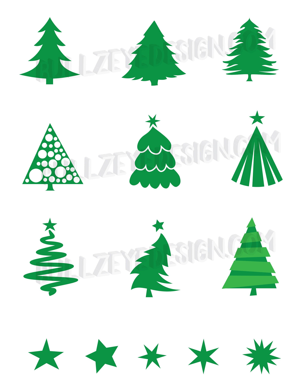 9 Christmas Tree SVG Files Vector Christmas Tree EPS Tree ...