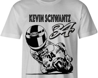 Kevin Schwantz Motorcycle T shirt
