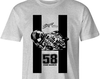 Marco 58 Simocelli Motorcycle T shirt