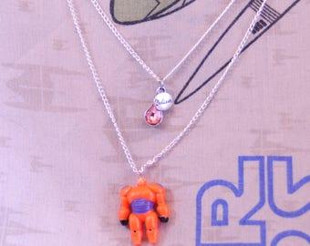 Baymax Necklace, Big Hero Six