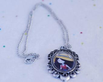 Marceline the vampire queen necklace, Adventure Time