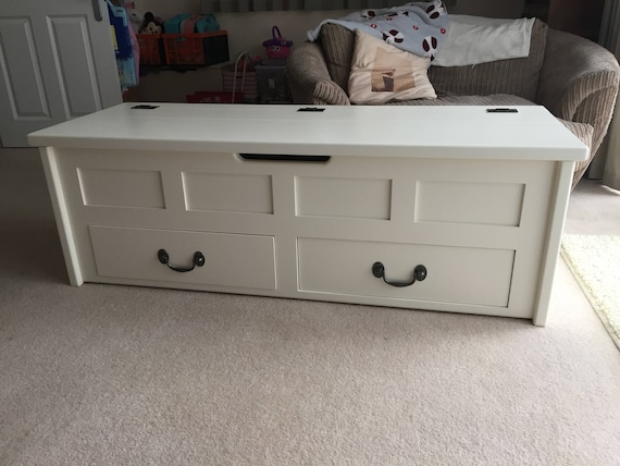 Tremendous Low Window Seat With Drawers Blanket Box Bespoke Sizes Available Ibusinesslaw Wood Chair Design Ideas Ibusinesslaworg