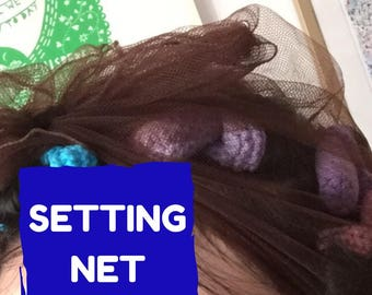 Setting net - perfect for overnight sets!