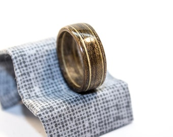 Bentwood ring, wooden ring, walnut ring, wedding ring, wooden jewelry, ring for wooman, ring for man